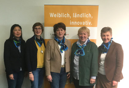 Vertreterinnen des LandFrauenVerbandes Schleswig-Holstein