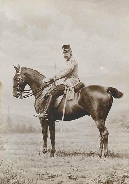 Fotografie von Kaiser Franz Joseph I. 1898