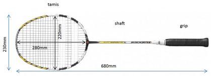 d17b430b81d99 La raquette de badminton - Badminton Avallon-ABBA