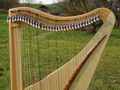 Travel Harp Luna34 with 34 strings