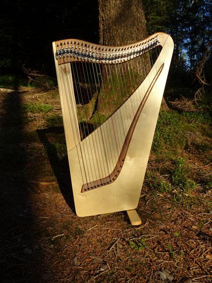 kleine Harfe, Reiseharfe, 32 Saiten