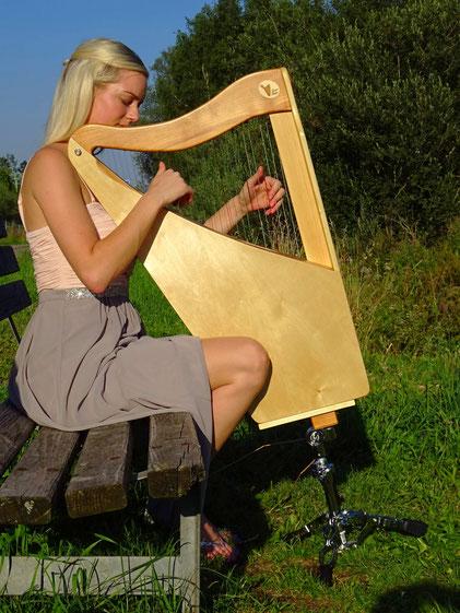 Harfenständer für Reiseharfe Luna