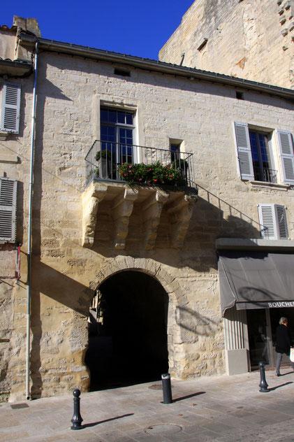 Bild: Haus in der Rue de la République in Villeneuve-lés-Avignon