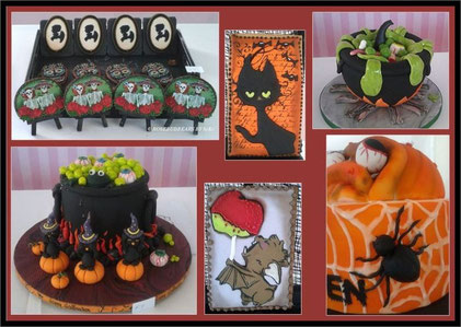 Halloweenstimmung auf der Cake World