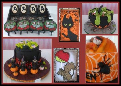 Halloweenstimmung auf der Cake World