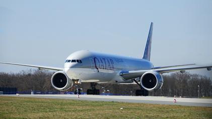 Qatar Airways' mighty Boeing 777