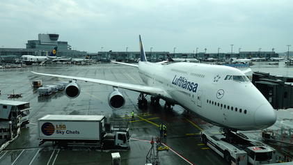 Frankfurt - Washington (LH418)