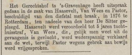 Provinciale Noordbrabantsche en 's Hertogenbossche courant 30-10-1877