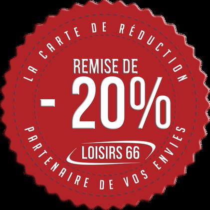 Loisirs66.fr la carte de réduction Perpignan