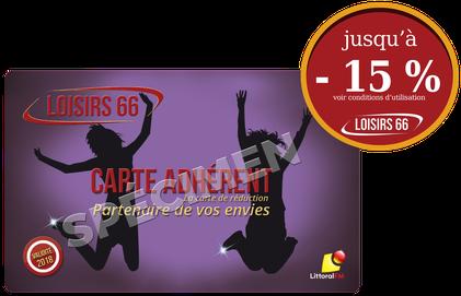 Loisirs66 carte de réduction Perpignan - Loisirs 66 - loisirs66.fr