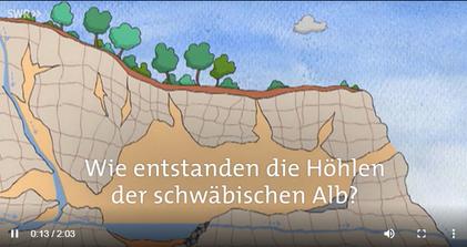 Karstentstehung am Beispiel der Schwäbischen Alb. Klick an.