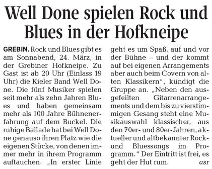 Kieler Nachrichten/Ostholsteiner Anzeiger, 24.3.2017