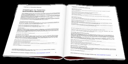 Fragebogen zur Ermittlung einer möglichen Schwermetall-Bealstung (© Dr. Hartmut Sauer)