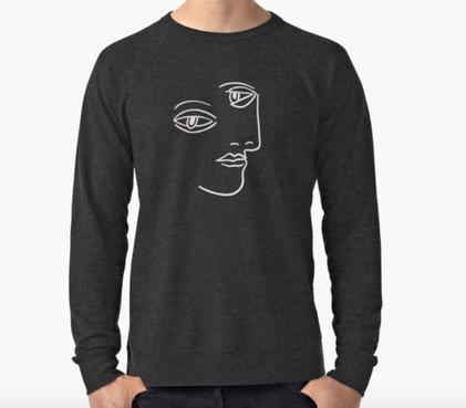 picasso tshirt, art tshirt