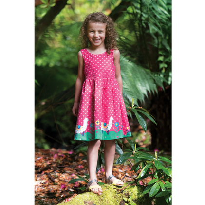 Alpaca Dress red for Girls