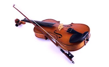 Geige und Bogen