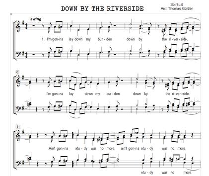 Down By The Riverside - Spiritual