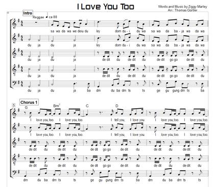 I Love You Too - Ziggy Marley