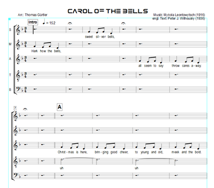 Carol Of The Bells - M. Leontowytsch