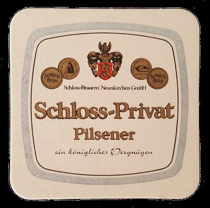 Schloss Sprüche Bierdeckel