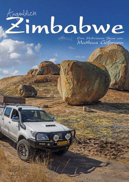 Matthias Gößmann:  Plakat zu Augenblick-Zimbabwe