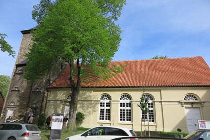 Die St. Marien-Kirche in Alt-Wolfsburg