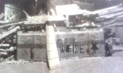 De forladte barrikader på Ryesgade