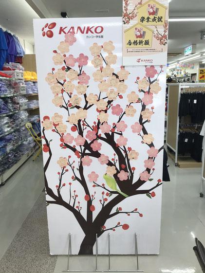 梅の木を満開にしよう!!
