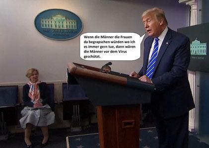 Der Heiler Donald trump