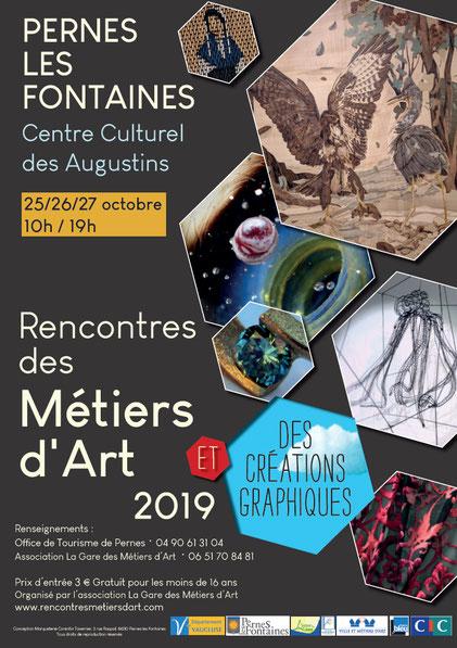 Rencontre des métiers d'art 2019, Perne les Fontaines (84)