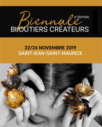 Biennale des Bijoutiers Créateurs 2019, La Cure, St Jean St Maurice Sur Loire