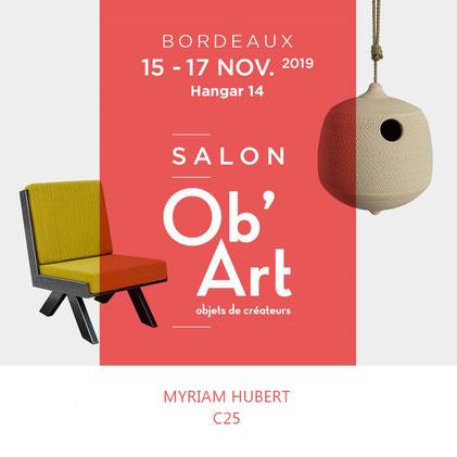 Ob'art Bordeaux 2019 verre