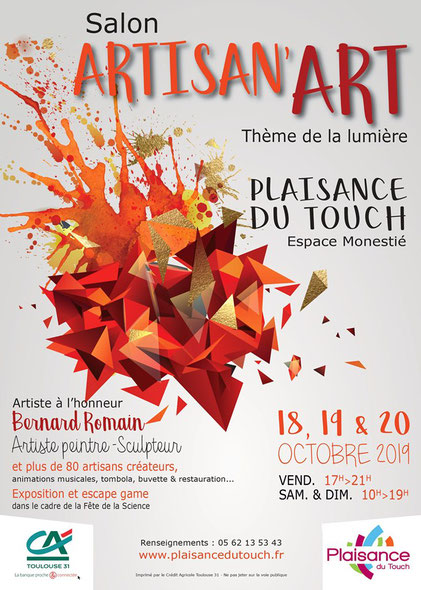 Plaisance du Touch, Salon Artisan'Art 2019