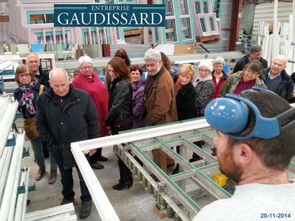 Visite de Gaudissard 20-11-14