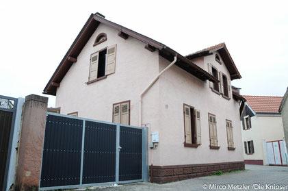 Zu sehen auf dem Bild ist das Haus im Flutgraben 17 in Osthofen.