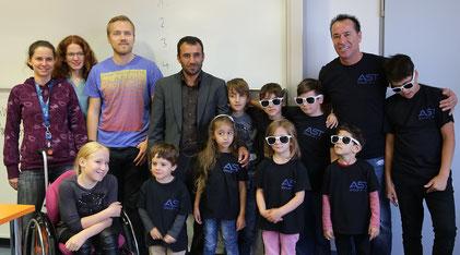 """Motivation, Teamgeist und viel Freude am Workshop """"Kinderuni 2.0"""" hatten die """"Nibelungen Elite Kids"""" der Kampfkunstschule King Celik aus Worms."""