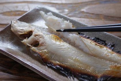 若狭かれい一夜干しは9月~春先までの福井の美味肴です