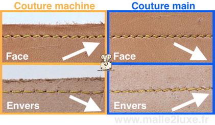 incroyable comment reconnaitre une couture machine d'une couture main secret des sacs a main de luxe hermes
