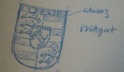 Servietten Replikat - was sagt die graphologische Analyse zu dieser Skizze
