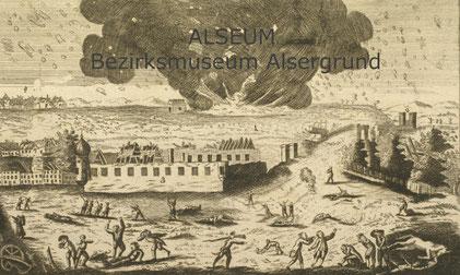 Kupferstich aus der Schausammlung des Bezirksmuseums Alsergrund (ALSEUM)
