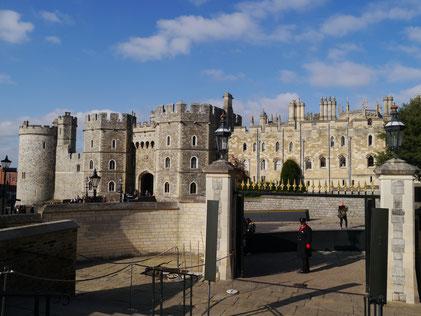 Windsor Castle, Eingangsportal