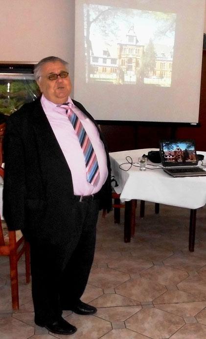 Joachim Haar beim Tag der Menschen mit Sehbehinderung 2014