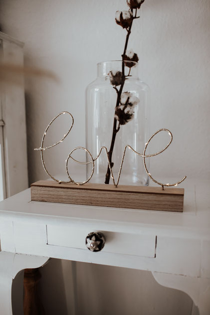 Boho Wedding love sign