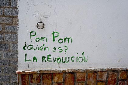 Graffiti à Grenade
