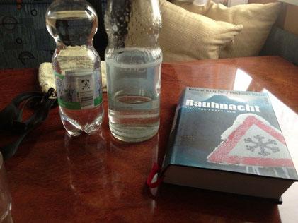 Etwas lesen, viel trinken...