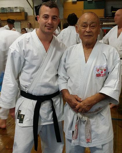 Massimiliano Marsala con il Maestro Soke Takayuki Kubota