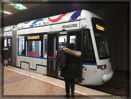 BOGESTRA Linie 302 am HBF im 5 Minutentakt. Foto: W. Müller