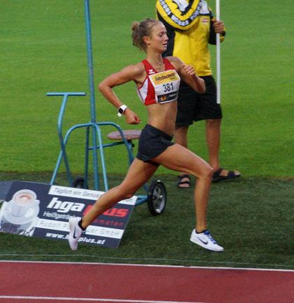 Lemi Wutz beim Zieleinlauf (Foto zVg)