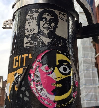 Andre the Giant, OBEY, Shoreditch Street Art Tour