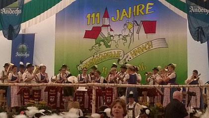 111 Jahre Musikkapelle Habach & 5 Jahre Burschenverein Habach